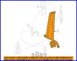 TOYOTA OEM 11-13 Corolla Front Seat-Belt & Buckle Retractor Left 7322002290B0