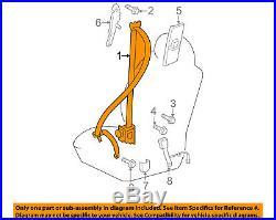 TOYOTA OEM 11-14 FJ Cruiser Front Seat-Belt & Buckle Retractor Left 7322035800C0