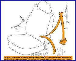 TOYOTA OEM 12-14 Tacoma Front Seat-Belt & Buckle Retractor Left 7322004230B0