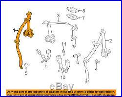 TOYOTA OEM 12-14 Yaris Rear Seat Belt-Belt & Buckle Retractor Right 7336052340C1