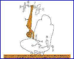 TOYOTA OEM 13-14 Prius V Front Seat-Belt & Buckle Retractor Left 7322047130B4