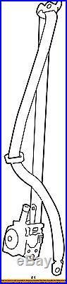 TOYOTA OEM 13-16 RAV4 Front Seat-Belt & Buckle Retractor Left 732200R031C0