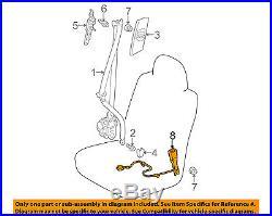 TOYOTA OEM 14-15 Prius Front Seat Belt-Buckle Left 7323047370B0
