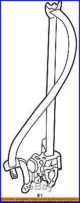 TOYOTA OEM 15-16 Sienna Front Seat-Belt & Buckle Retractor Left 7322008070C1