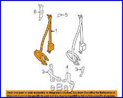 TOYOTA OEM 1998 Tacoma Front Seat-Belt & Buckle Retractor Left 7322004070B0