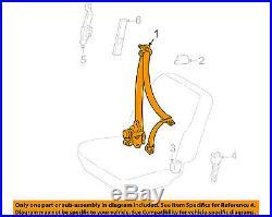 TOYOTA OEM 2003 Corolla Front Seat-Belt & Buckle Retractor Left 7322002131B1