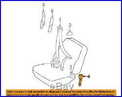 TOYOTA OEM 2003 Corolla Front Seat Belt-Buckle Right 7323002160B1