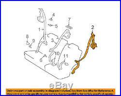 TOYOTA OEM 4Runner Rear Seat Belt-Belt & Buckle Retractor Left 7337035240B0