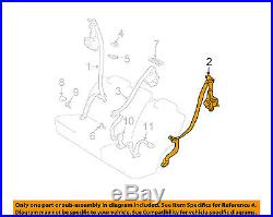 TOYOTA OEM 4Runner Rear Seat Belt-Belt & Buckle Retractor Left 7337035240B1