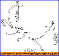 TOYOTA OEM 93-98 Supra Front Seat-Belt & Buckle Retractor Right 7321014552C0