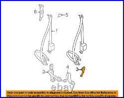 TOYOTA OEM 95-97 Tacoma Front Seat Belt-Buckle Left 7324004040B0