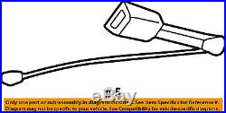 TOYOTA OEM 97-01 Camry Front Seat Belt-Buckle Left 73240AA030B0