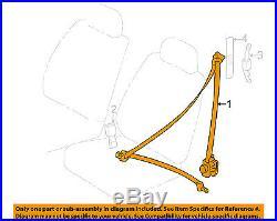 TOYOTA OEM 98-99 Corolla Front Seat-Belt & Buckle Retractor Left 7322002030B0