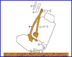 TOYOTA OEM 99-00 4Runner Front Seat-Belt & Buckle Retractor Left 7322035490B0
