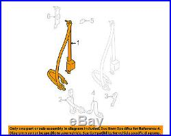 TOYOTA OEM 99-00 Tacoma Front Seat-Belt & Buckle Retractor Left 7322004090E0