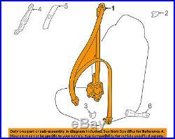 TOYOTA OEM Front Seat-Belt & Buckle Retractor Left 7322060323B1