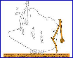TOYOTA OEM RAV4 Third Row Seat Belt-Belt & Buckle Retractor Left 7357042011B2