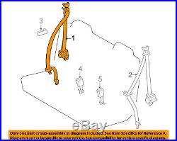 TOYOTA OEM RAV4 Third Row Seat Belt-Belt & Buckle Retractor Right 7356042011B2