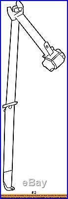 TOYOTA OEM Third Row Seat Belt-Belt & Buckle Retractor Left 735700E110C0