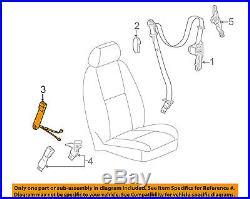 Tahoe Yukon Escalade Tan Passenger Seat Belt Buckle 2007-2014 New Oem 19121542