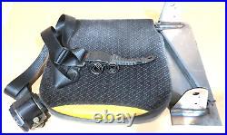Taxi Camper Minibus Folding Tip Up Spring Seat Belts Buckle Bracket & Fittings