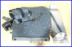 Taxi Camper Minibus Folding Tip Up Spring Seat & Belts Buckle Bracket & Fittings