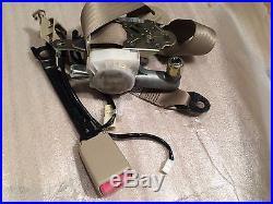 Toyota Prius 04 Seat Belt & Seat Belt Buckle Front Left/Driver Side Tan