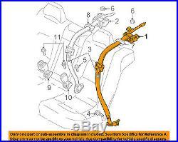 VOLVO OEM 05-07 V70 Rear Seat Belt-Belt & Buckle Retractor Right 6841674