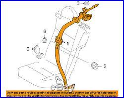 VOLVO OEM 08-12 C30 Rear Seat Belt-Belt & Buckle Retractor Left 30642224