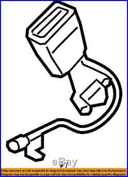 VOLVO OEM 16-18 XC90 Front Seat Belt-Buckle Left 31369301