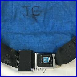 VTG National Ski Patrol Fanny Pack Large Medical Bag Custom GM Seat Belt Buckle