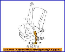 VW VOLKSWAGEN OEM 02-10 Beetle Front Seat Belt Buckle Right 1Y1-858-472-C-YLZ