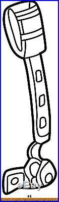 VW VOLKSWAGEN OEM 04-10 Beetle Front Seat Belt-Buckle Right 1C1857756FFCN