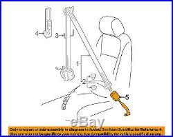 VW VOLKSWAGEN OEM 06-08 Passat Front Seat Belt-Buckle End Left 1K3857755RQVZ