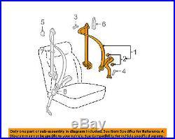 VW VOLKSWAGEN OEM Jetta Front Seat Belt Buckle-Retractor Assy Left 1J4857705THCQ