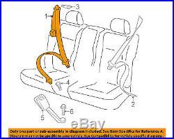 VW VOLKSWAGEN OEM Rear Seat Belt-Belt & Buckle Retractor Right 5C5857806DRAA
