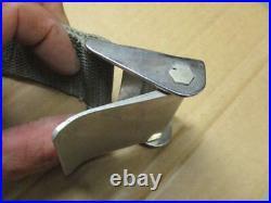 Vintage EZ Hot Rod Seat Belts Aluminum Buckles Custom