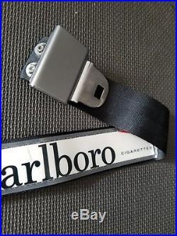 Vintage Old Marlboro Carton Antique Collectible car seat belt buckle belt Estate