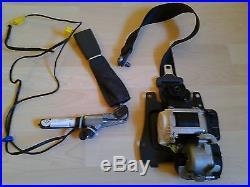 W220 mercedes s500 s430 s55 s600 front left driver seat belt buckle black 03-06