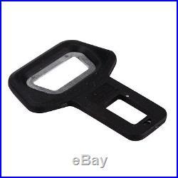 Weyli Black Seat Belt Buckle Clip and Vehicle-mounted Bottle Opener, 100-Pack